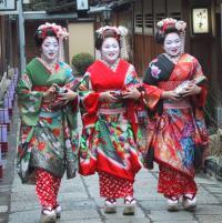 В Японии на горе Митаке пройдут вечера с гейшами