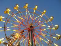 Уфа: новый аттракцион - круглогодичное колесо обозрения